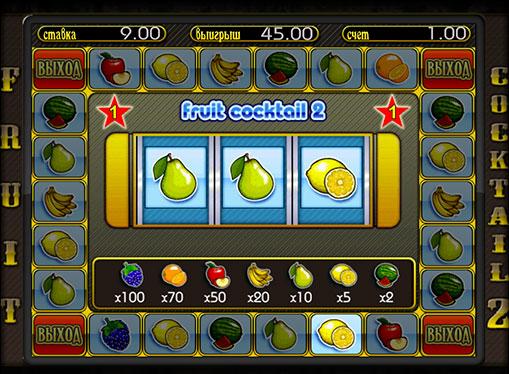 Bonusspiel von Pokies Fruit Cocktail 2