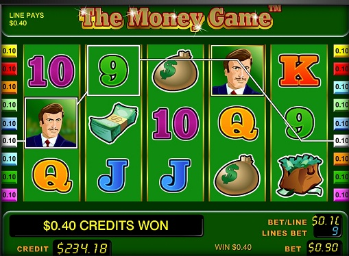 Das Money Game spielt den Slot online