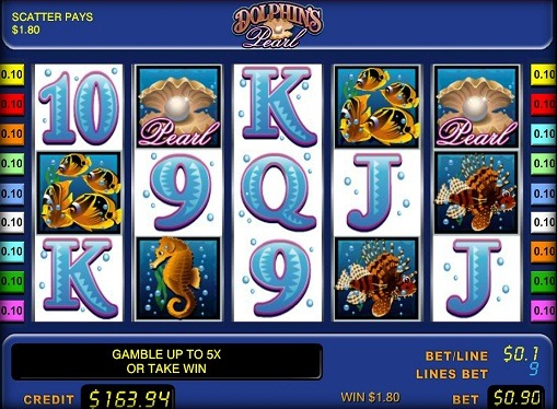 Dolphins Pearl Spiele den Slot online