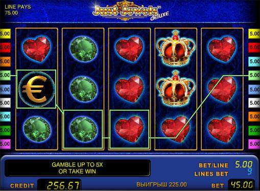 Just Jewels deluxe Spielen Sie den Slot online