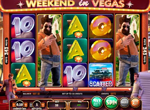 Spielautomaten Weekend in Vegas Online-Glücksspiel mit Rückzug
