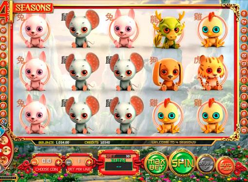 Spielen Sie Machine Four Seasons auf Geldzahlungen