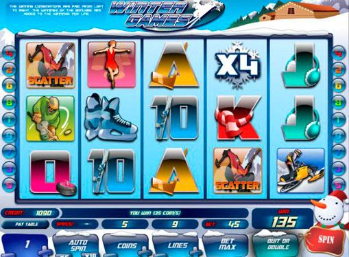 Winter Games Spielen Sie den Spielautomat online für Geld